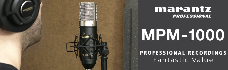 Marantz Mpm 1000 microphone