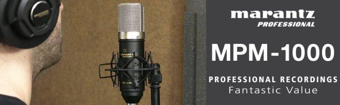 Marantz MPM 1000 Review. Marantz mpm 1000 condenser mic review