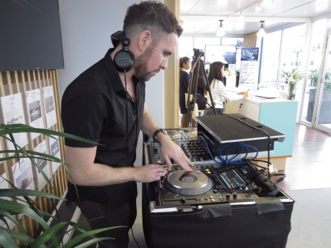 DJ Stephen Day for Boat Lagoon Yachting