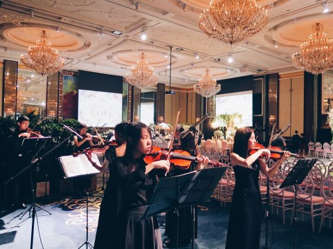 String ensemble in island ballroom 2