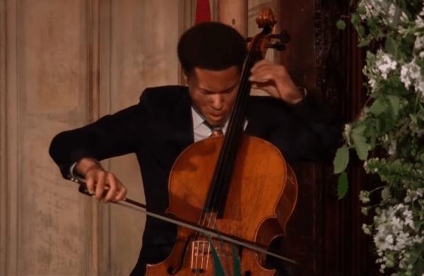 cellist at royal wedding