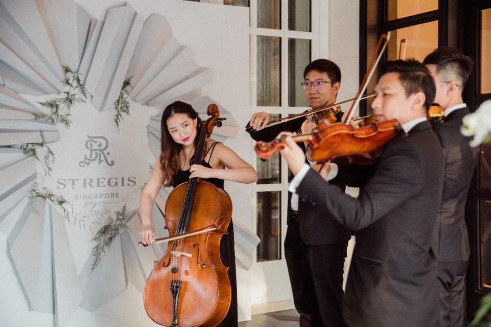 String Quartet at St Regis Carolines Mansion Unveiled
