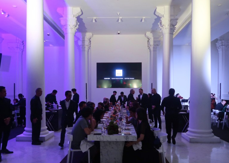 PVH - house of Calvin Klein, Tommy Hilfiger and heritage brands,  evening gig