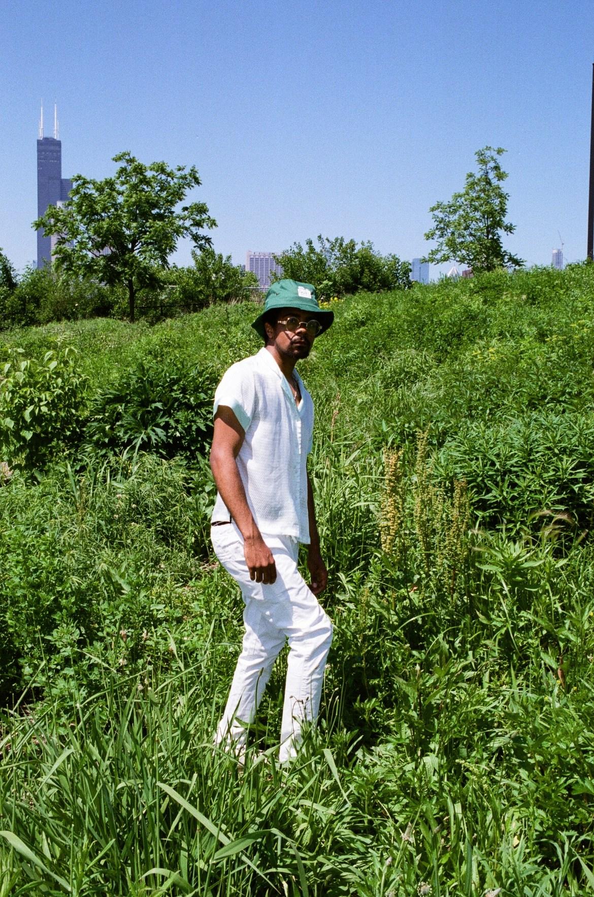 Nate in Grass