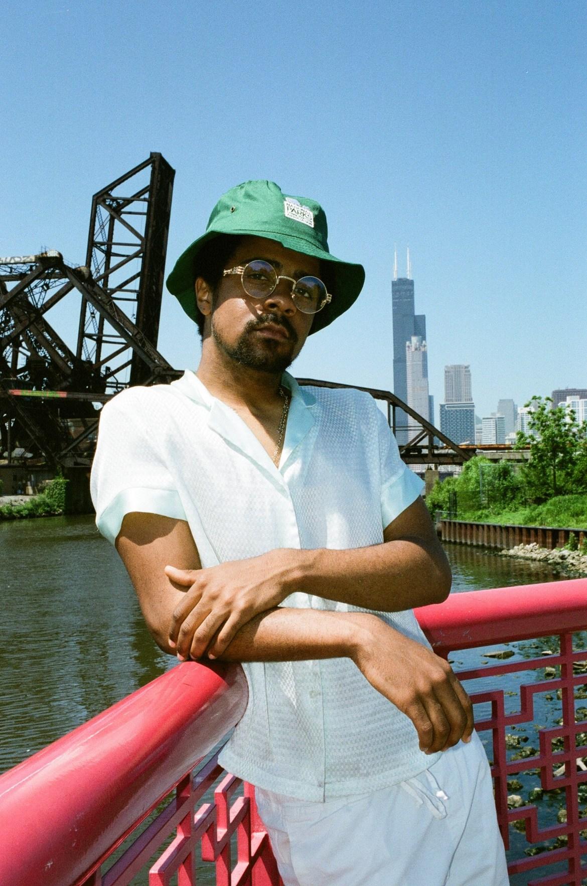 Nate on Bridge