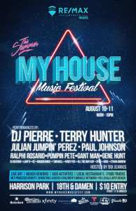 RE/MAX Loyalty Presents My House Music Festival 2019 Lineup
