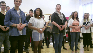 Belting Explained onsite training day for HND Musical Theatre students