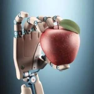 Robot apple for the teacher?