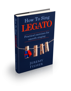 How To Sing Legato - Jeremy's new ebook, an Amazon #1 bestseller