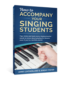 How To Accompany Your Singing Students - Jeremy's second ebook, written with Anne Leatherland, an Amazon #1 bestseller