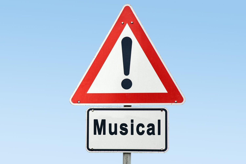 Musical warning sign