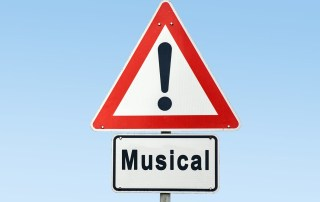 Musical warning sign