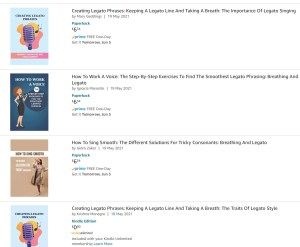 4 copies of my book copied by pirates on Amazon