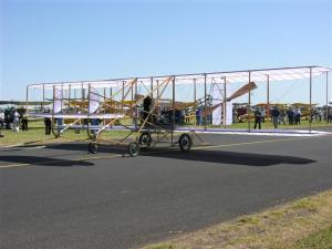 Wright Flyer after launch (Medium)