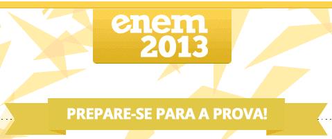 Prepare-se para a Prova do Enem 2013