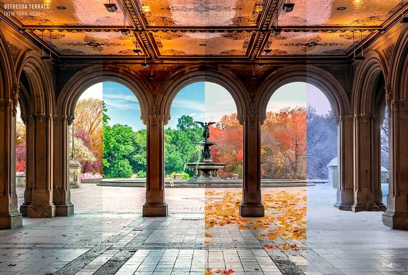 Bethesda Terrace (Nova York, EUA)