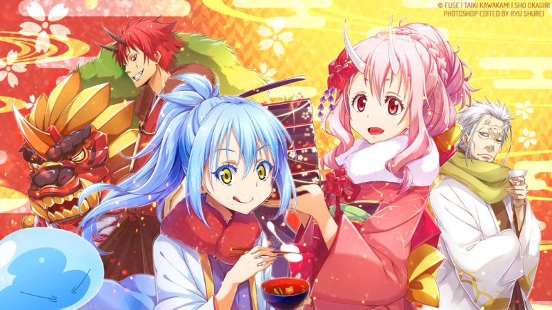 Light Novels Mais Vendidas da 1º Metade de 2019 - Slime superou SAO