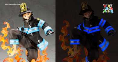 Figure de Fire Force Brilha no Escuro