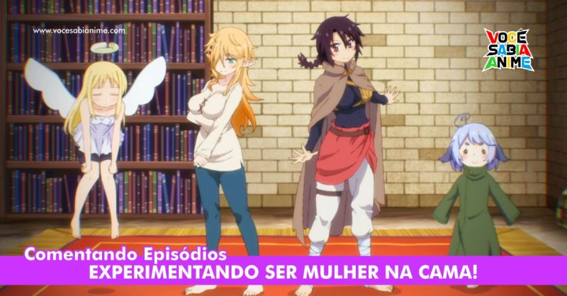 Comentando Ishuzoku Reviewers Ep 3