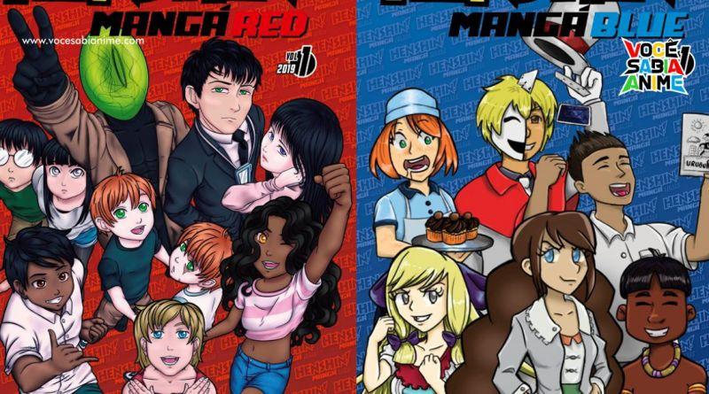 JBC lança Henshin Mangá Red e Blue