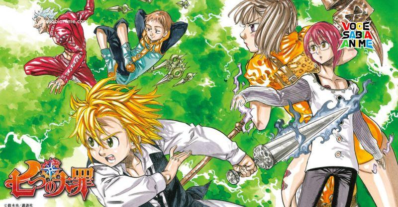 Autor de Nanatsu no Taizai trabalhando em Nova Série