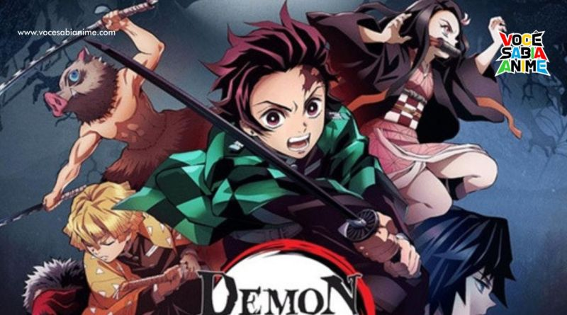 Kimetsu no Yaiba é escolhido Anime de Todos os Tempos em Votação de Serviço de Streaming