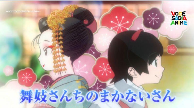 Maiko-san Chi no Makanai-san recebe Anime