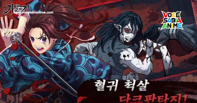 Game Coreano é encerrado sob Acusação de Plagiar Kimetsu no Yaiba