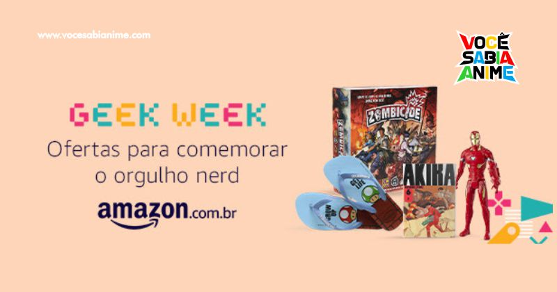 Semana Geek Amazon - Leve 4 Mangás e Pague 3