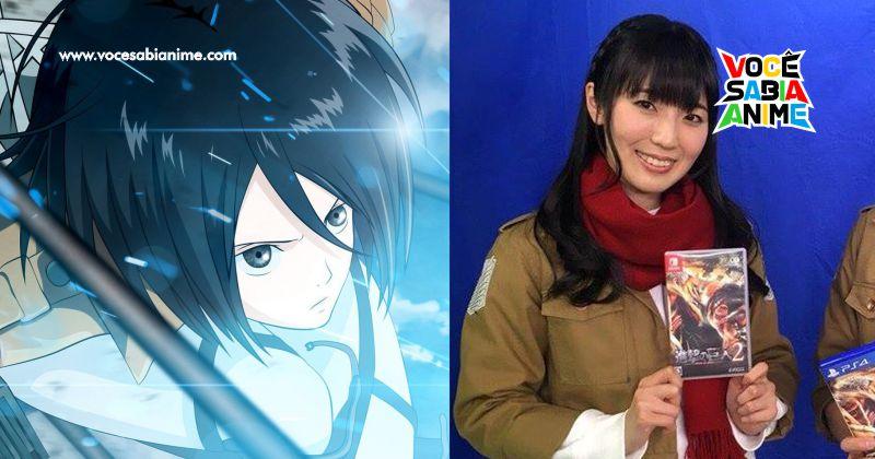 Voz Japonesa da Mikasa esta Recebendo Ameaças de Morte