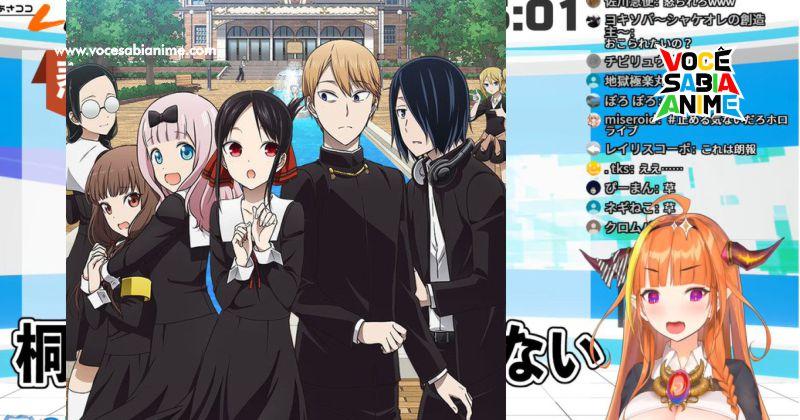Autor de Kaguya-sama está vendo Muitas VTubers!