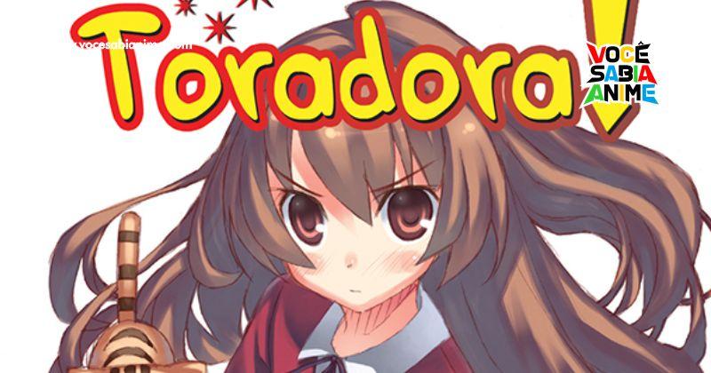 Anime de Toradora estreia na Netflix Brasil dia 1 de Agosto