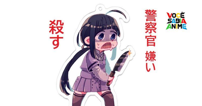 Japão - Garota de 16 anos Ameaça Policial