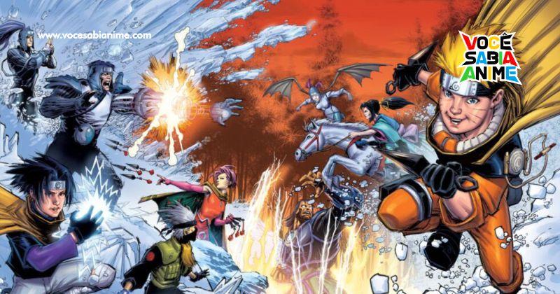 Artista de X-Men desenha capa pra Blu-ray de Naruto nos EUA