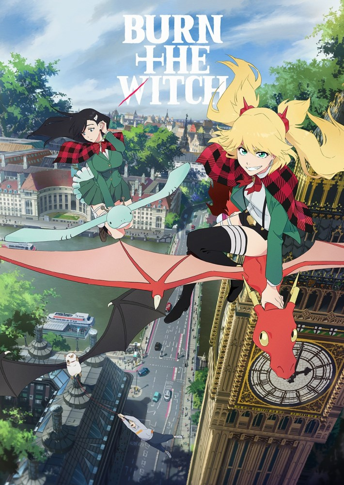 Anime de Burn the Witch disponível dia 2 de Outubro