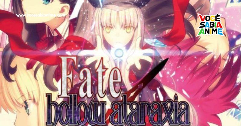 Noriaki Sugiyama diz que Espera Adaptação de Fate/Hollow Ataraxia