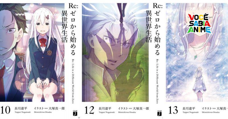Conheça a Versão Premium da Light Novel de ReZero