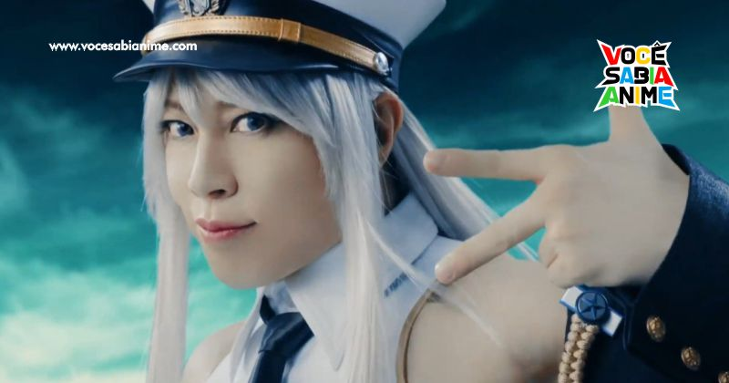 Takanori Nishikawa faz Cosplay de Enterprise pelos 3 anos de Azur Lane