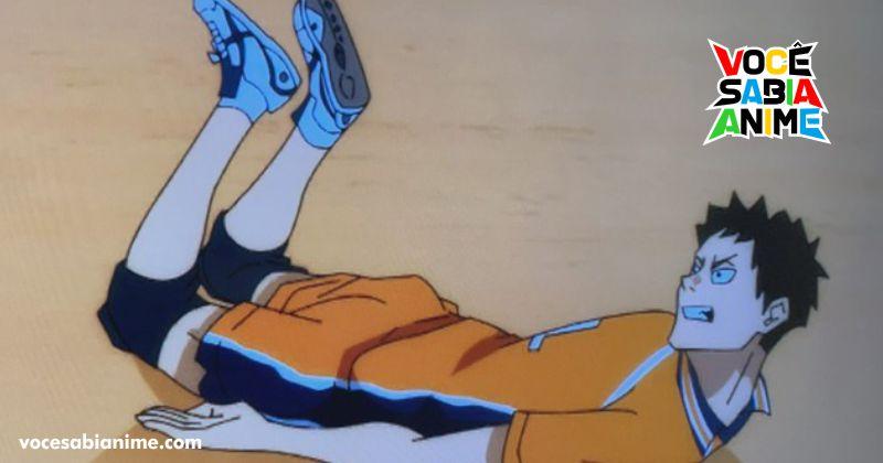 Novo episódio de Haikyuu to the top 2 tem Animação bugada