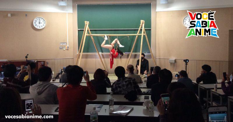 Universidade de Kyoto teve Simpósio de Shibari