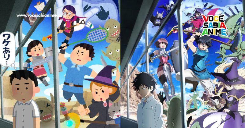 Versão especial do Primeiro episódio de 100-man no Inochi disponível