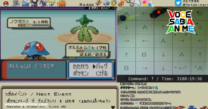 Peixe termina Pokémon em 3.184 horas