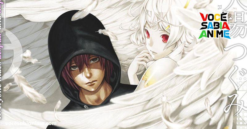 Domínio pra anime de Platinum End registrado