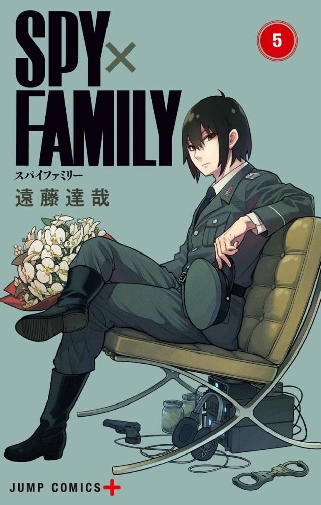 As cadeiras nas capas de SPY x FAMILY