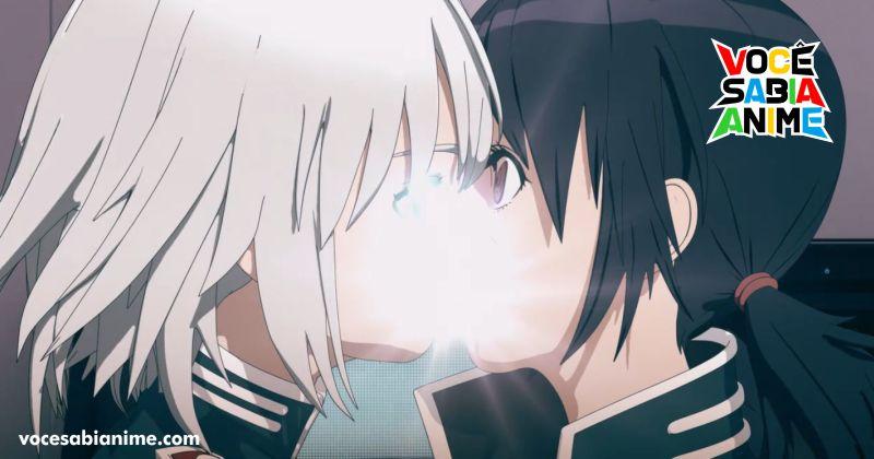 Ep 2 de EX-ARM tem censura ou efeito especial em beijo
