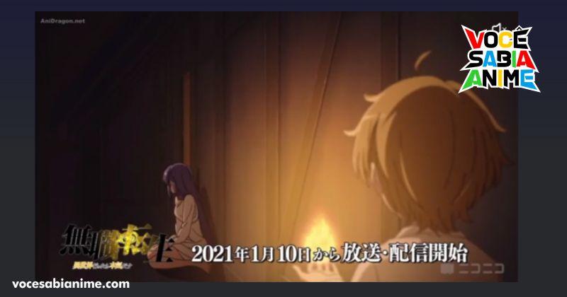 Ep 2 de Mushoku Tensei tem Roxy se aliviando