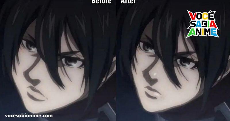 Fãs editam rosto da Mikasa e criam memes