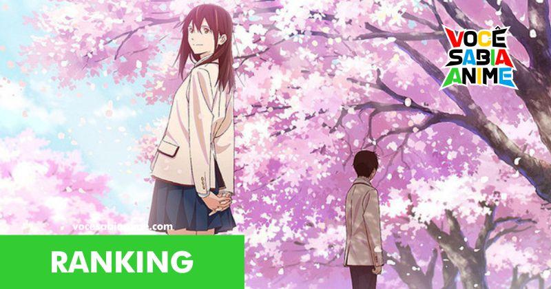 Top 20 filmes de anime que te fizeram chorar