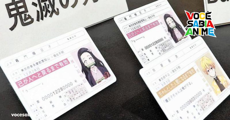 Homem é preso por vender cartões de Kimetsu no Yaiba sem licença