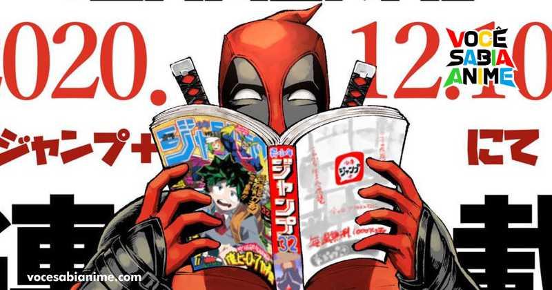 O Título mais lido da Marvel em 2021 até agora é o Mangá de Deadpool